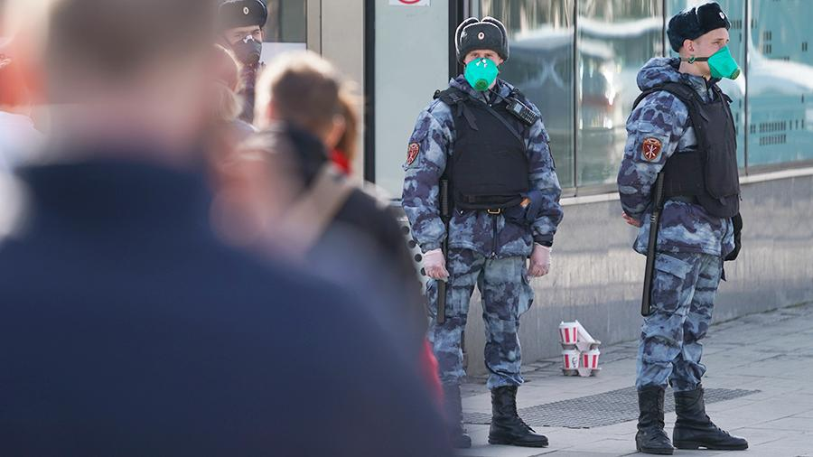 В Москве оштрафованы 30 нарушителей режима самоизоляции