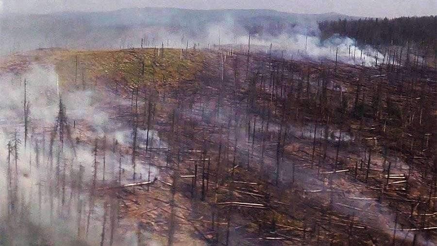 Новосибирск заволокло дымкой от лесных пожаров