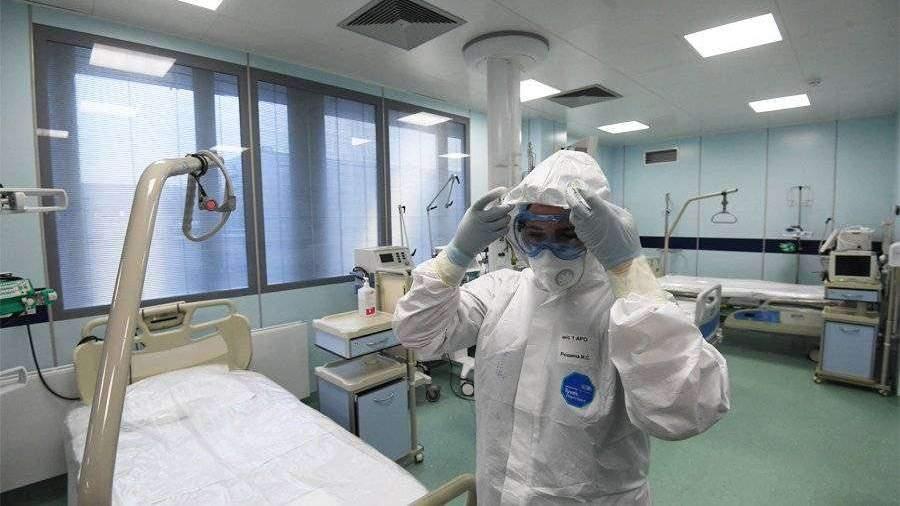 Главврач больницы показал видео из коронавирусной реанимации в Москве