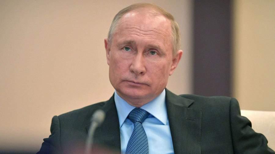 Путин освободил от должности заместителя главы МВД