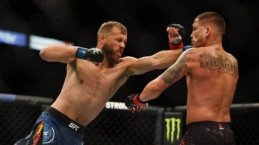 Серроне проиграл Петтису на турнире UFC 249