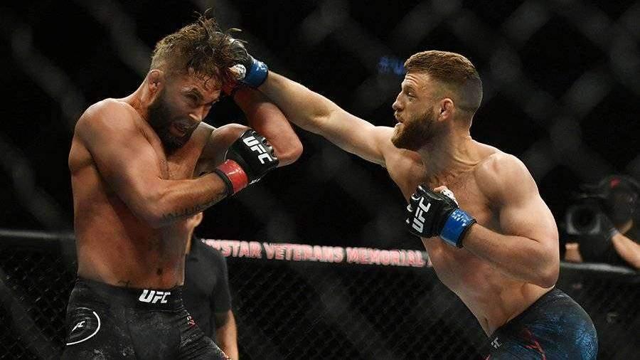 Каттар победил Стивенса техническим нокаутом на турнире UFC 249