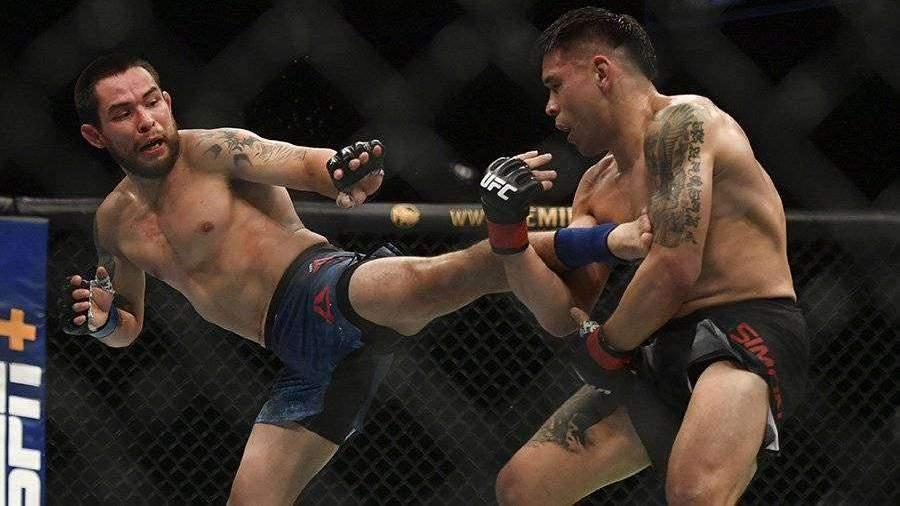 Рикки Симон победил Рэя Борга на турнире UFC Fight Night 171