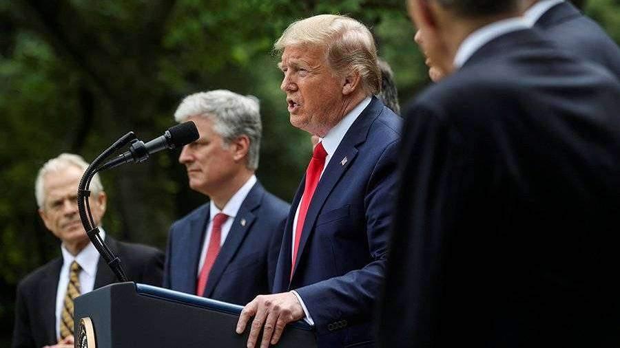 Трамп заявил о разрыве отношений США с ВОЗ
