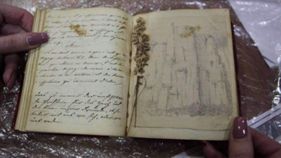Укравшая дневник Пушкина за 75 млн рублей рассказала о произошедшем