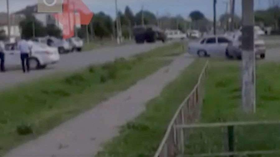 Силовики блокировали группу бандитов во время КТО в Сунже