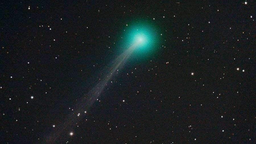Новая комета SWAN максимально приблизилась к Земле