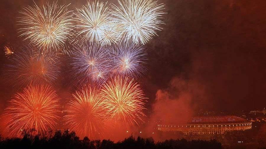 Для праздничного салюта в Москве использовали 90 единиц техники