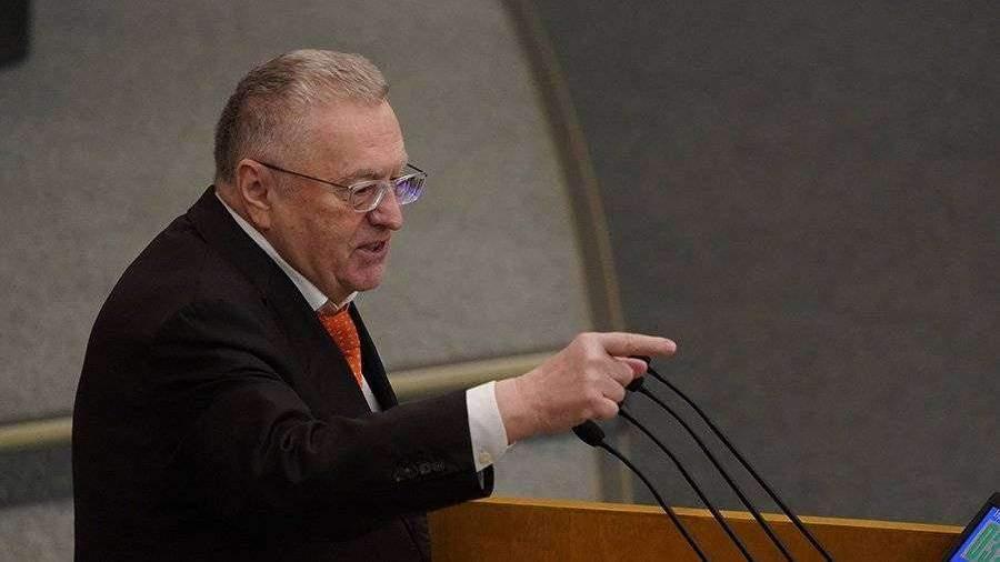 Жириновский предложил испытывать вакцину от коронавируса на заключенных