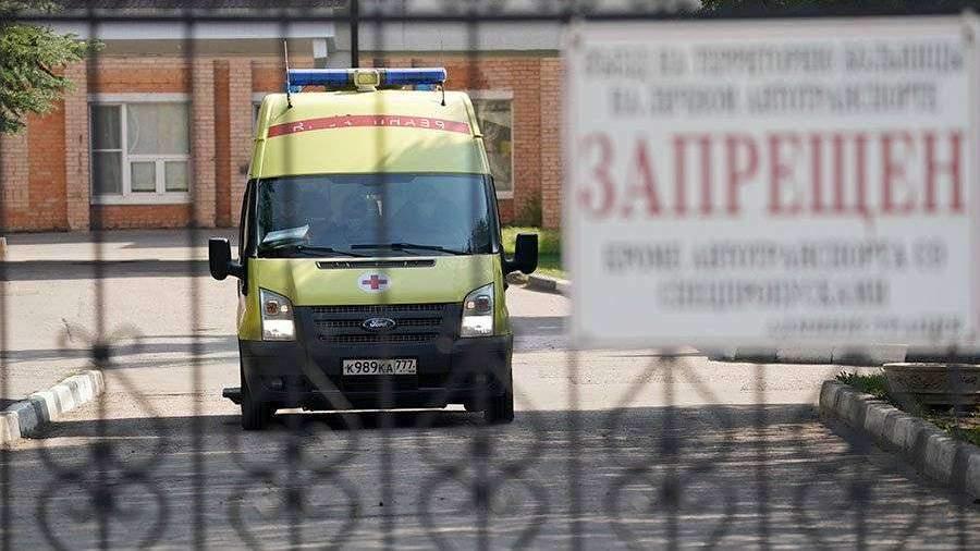 Власти Подмосковья заявили о снижении числа госпитализируемых с COVID-19