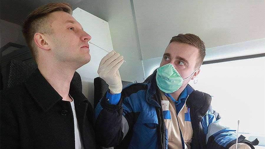В России проведено более 7,8 млн тестов на коронавирус