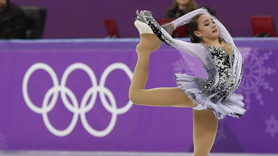 Фигуристку Алину Загитову назвали олимпийской иконой стиля
