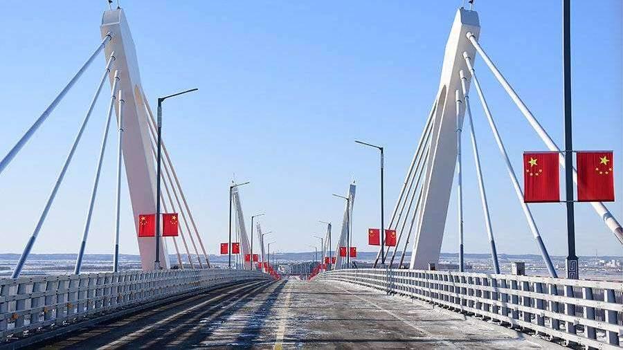 Мост через Амур в Китай введут в эксплуатацию после окончания пандемии