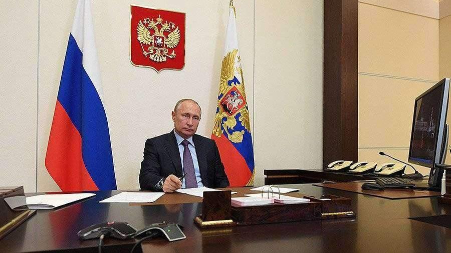 Путин предложил создать Национальную базу генетической информации
