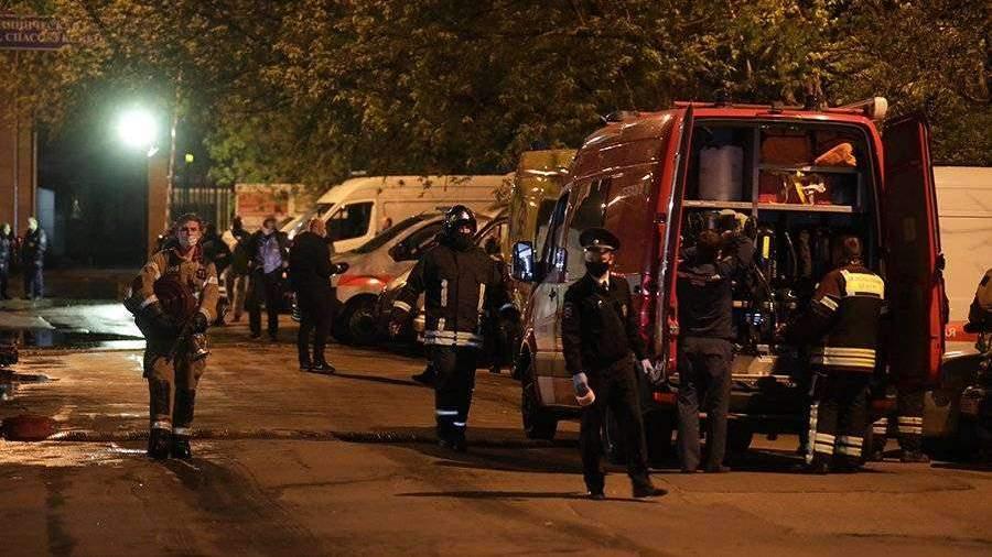 Источник назвал предварительную причину пожара в Зеленодольске
