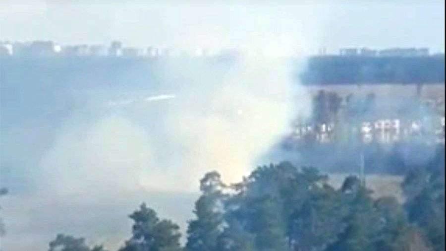 Очевидцы сообщили о пожаре в Балашихе