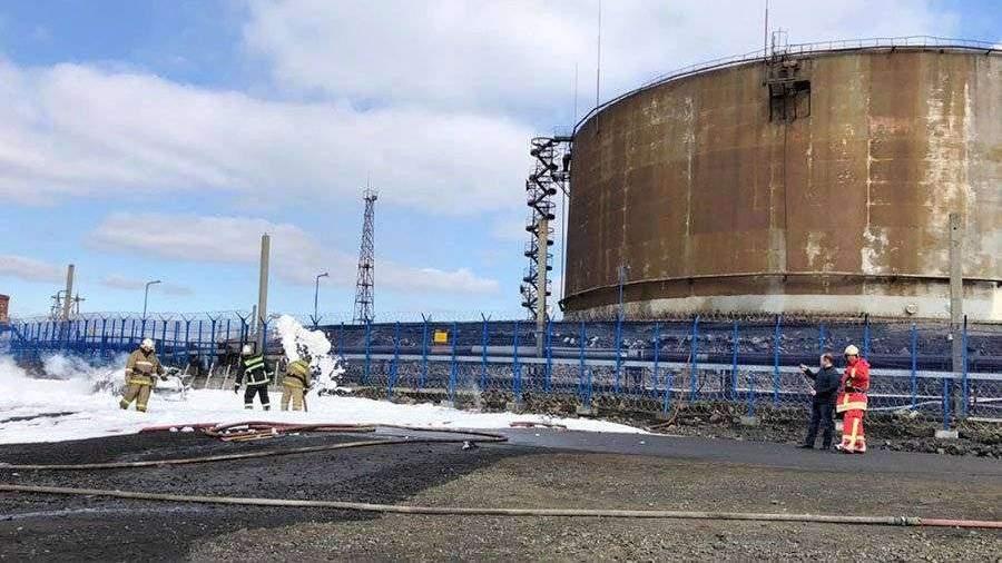 На месте разлива топлива в Норильске собрано 100 т нефтепродуктов