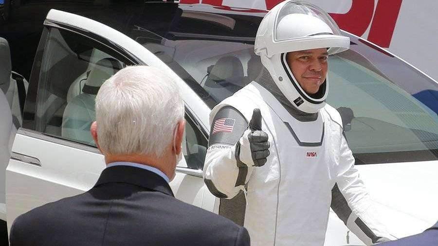 Астронавт NASA поделился впечатлениями от полета на Crew Dragon