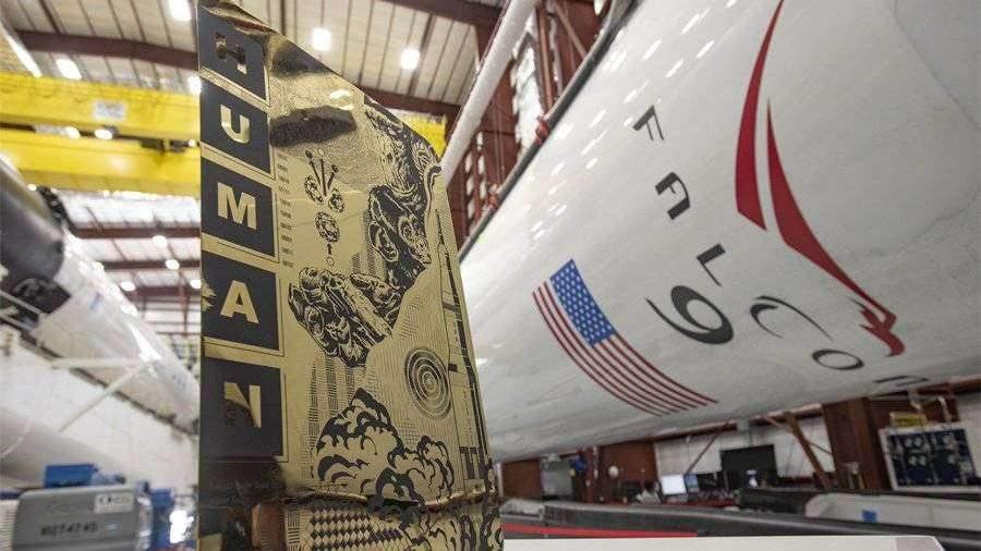 Crew Dragon доставил на МКС серию работ художника стрит-арта