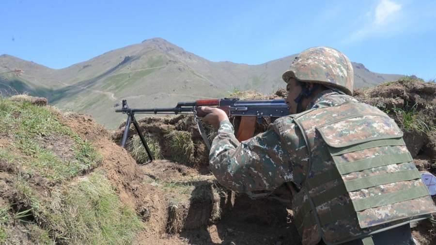 Минобороны Армении заявило об атаке со стороны Азербайджана