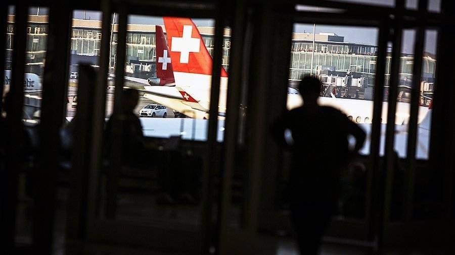 Авиасообщение между Россией и Швейцарией возобновится с 15 августа