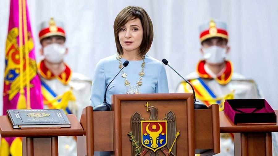Санду выступила за возобновление отношений Молдовы с МВФ |  Новости |  Известия