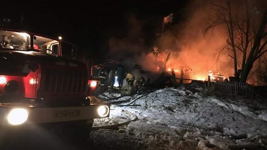 0HR9nSl0De0 В Удмуртии четыре человека погибли в результате пожара в частном доме