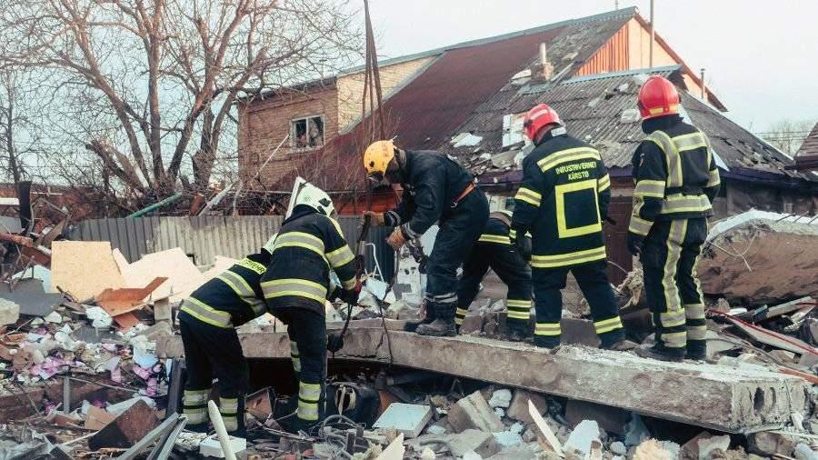 14021.jpeg Опубликовано видео с моментом разрушившего два дома в Киеве взрыва
