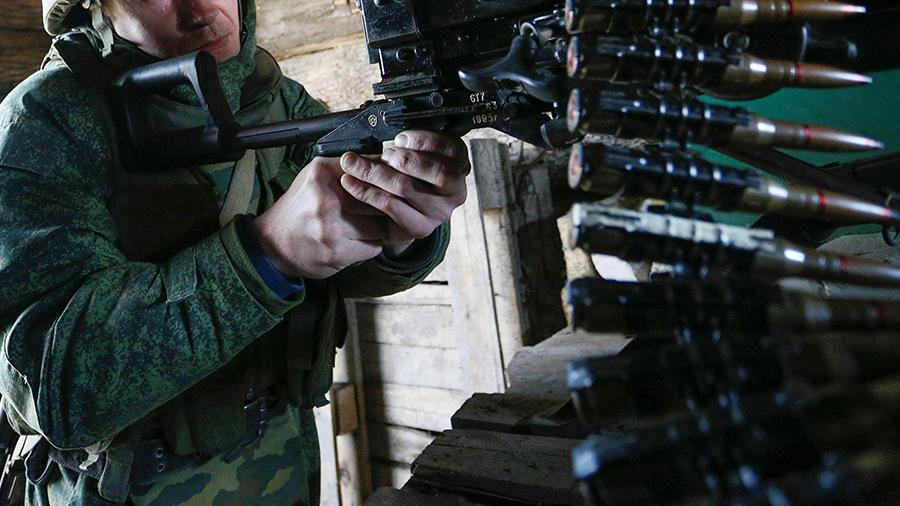 2021 04 02T175006Z 437605 RC2TNM9RKBZ9 RTRMADP 3 UKRAINE CRISIS DONETSK.JPG В Госдуме призвали Украину остановить боевые действия в Донбассе