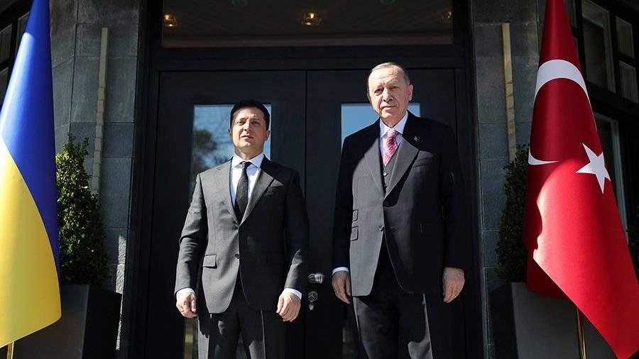 Эрдоган поддержал перспективу вступления Украины в НАТО