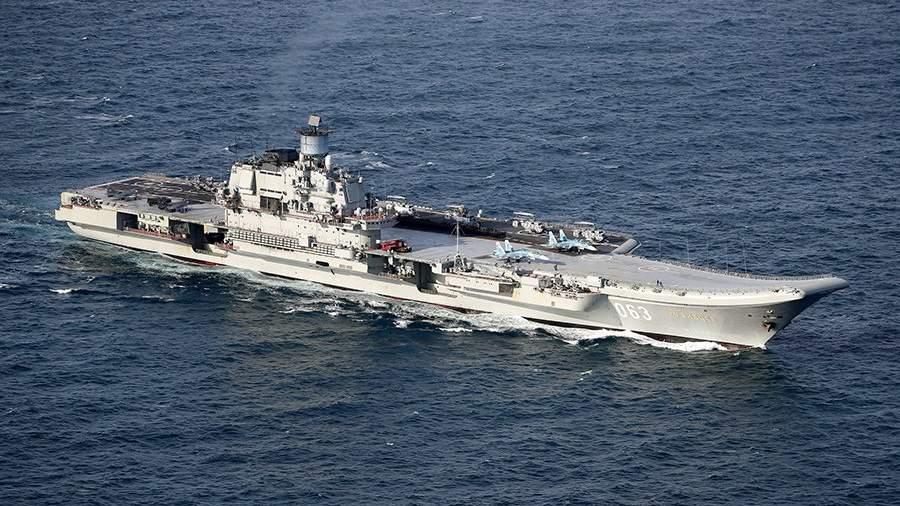 RIAN 3015428.HR .ru Летчиков палубных истребителей «Адмирала Кузнецова» отправят в Арктику