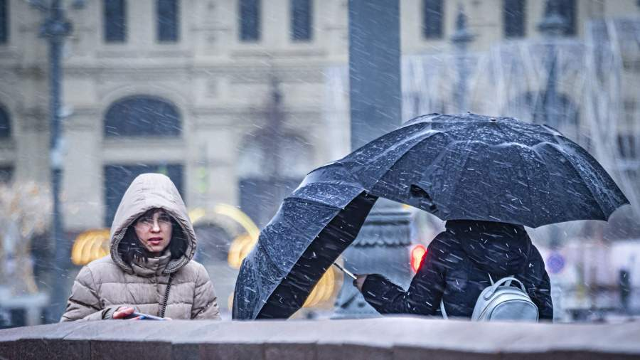 KKP4132 В Москве 8 апреля выпало 20% месячной нормы осадков