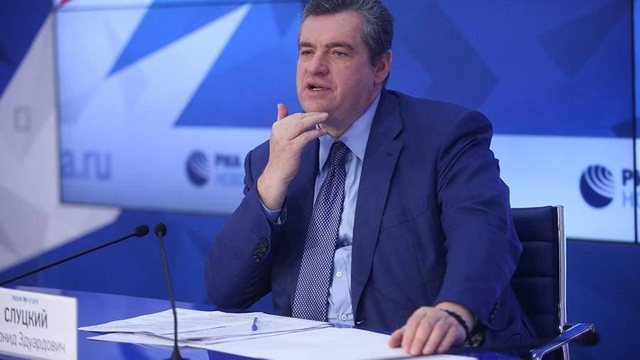 Слуцкий оценил реакцию Европы на ситуацию вокруг Медведчука