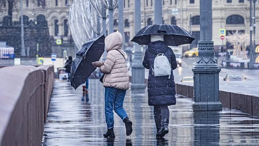 Жителям столичного региона пообещали мокрый снег в ночь на 9 мая