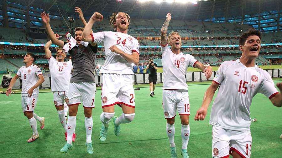 Сборная Дании вышла в полуфинал Евро-2020   Новости   Известия   03.07.2021