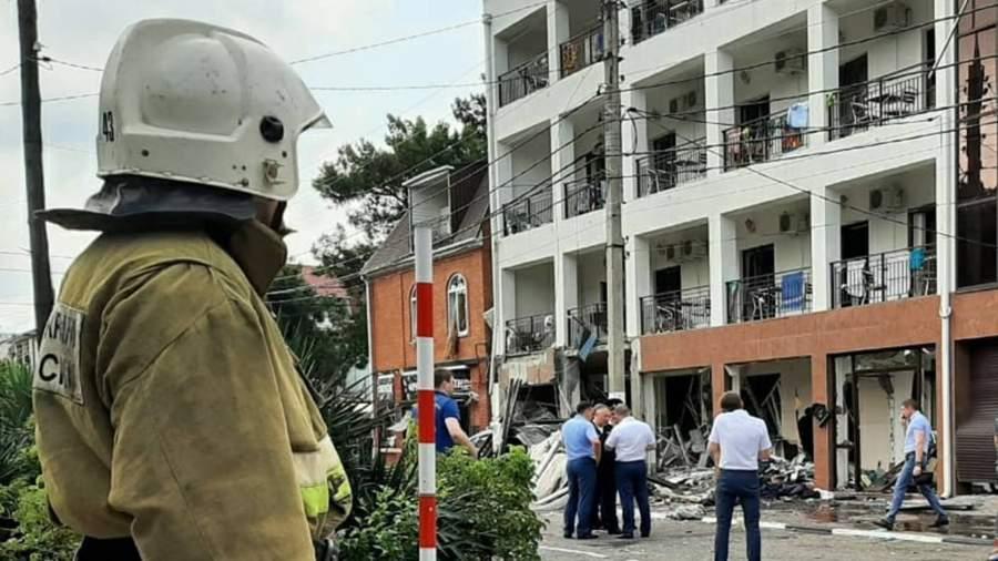 4545466 Взрыв в отеле в Геленджике. Главное