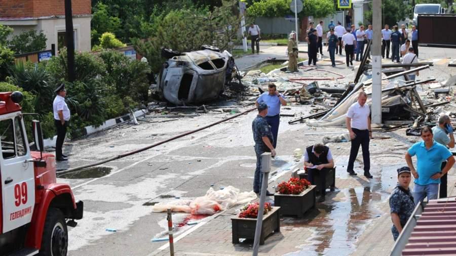 RIAN 6594656.HR .ru 1 В Геленджике завершились поисково-спасательные работы на месте взрыва газа