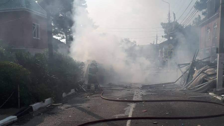 TASS 46942028 Неисправность назвали возможной причиной взрыва газа в отеле Геленджика