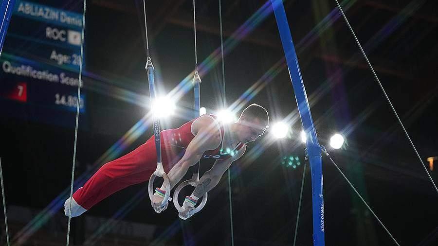 Российский гимнаст Аблязин взял серебро в опорном прыжке на ОИ