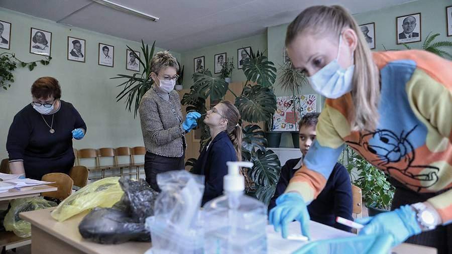 Минпросвещения сообщило о стабильной ситуации с коронавирусом в школах