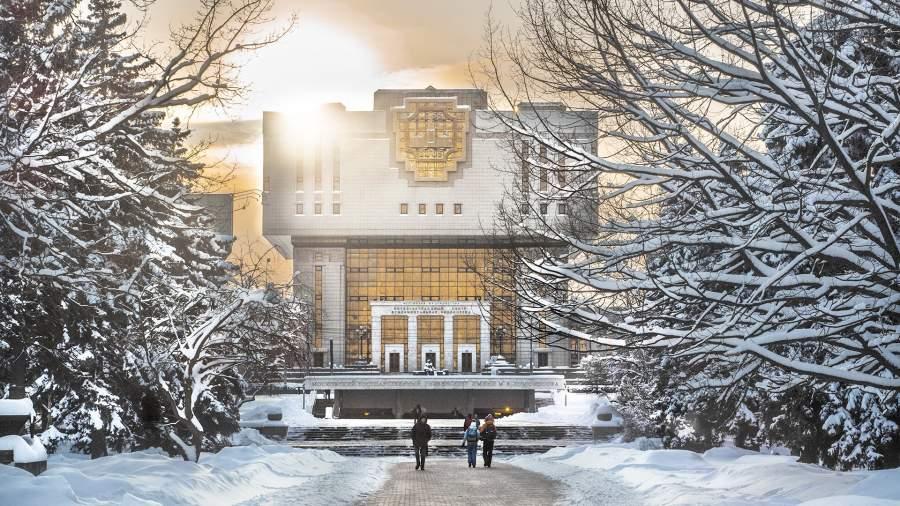 Фундаментальная библиотека МГУ в наше время