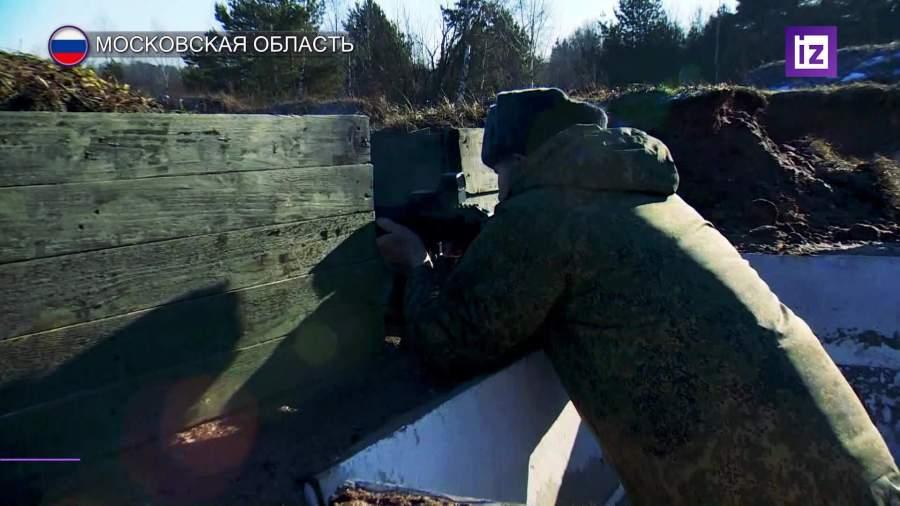 Ветеран опробовал технику на полигоне Головеньки