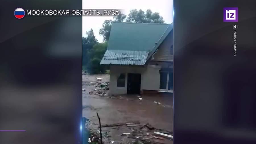 В Рузе объявлен режим чрезвычайной ситуации