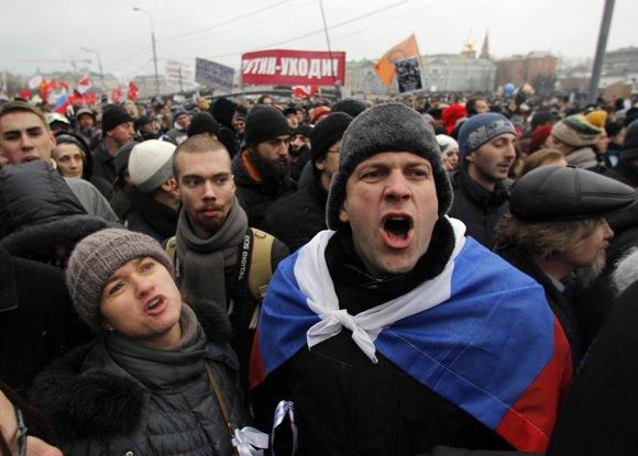 Митинг на Болотной прошел без происшествий