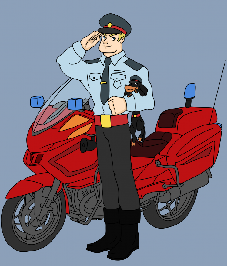 полицейский для детей картинки