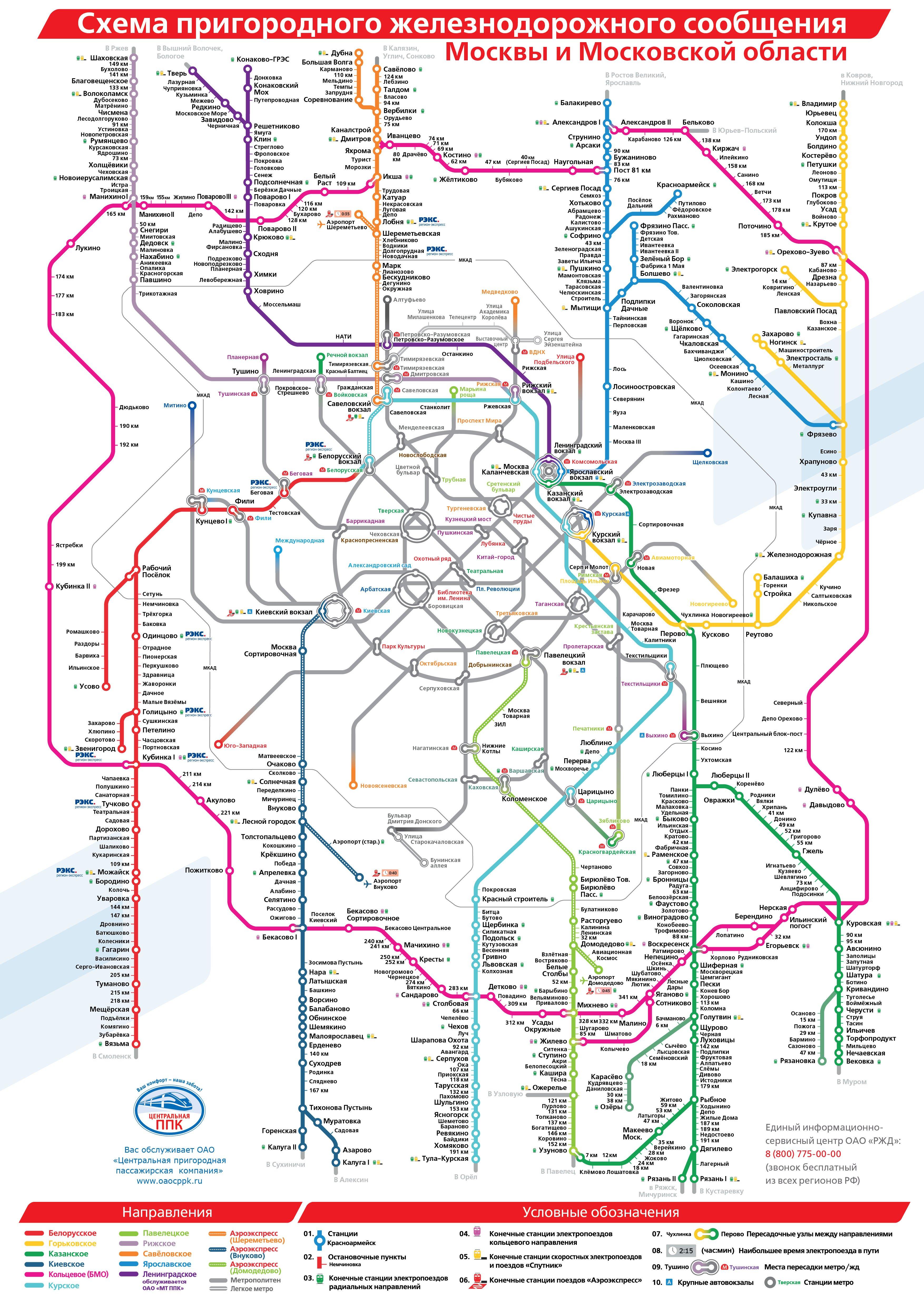 Схема электричек ярославского вокзала