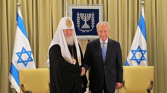 Патриарх почтил память жертв Холокоста и борцов с фашизмом