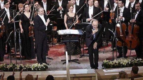 Гергиев поздравил Щедрина шестью часами музыки