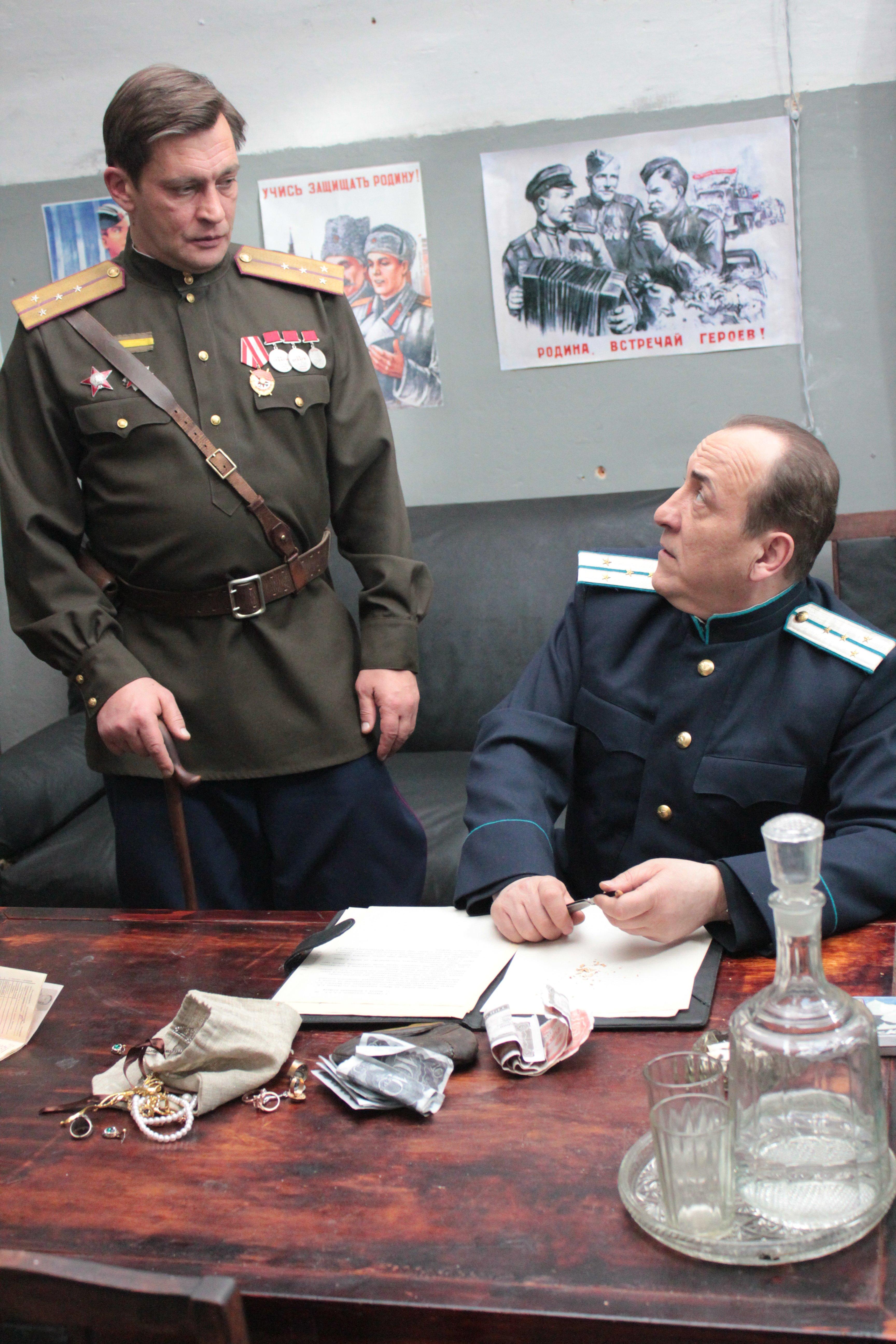 Домогаров перевоплотился в Хауса и Жеглова