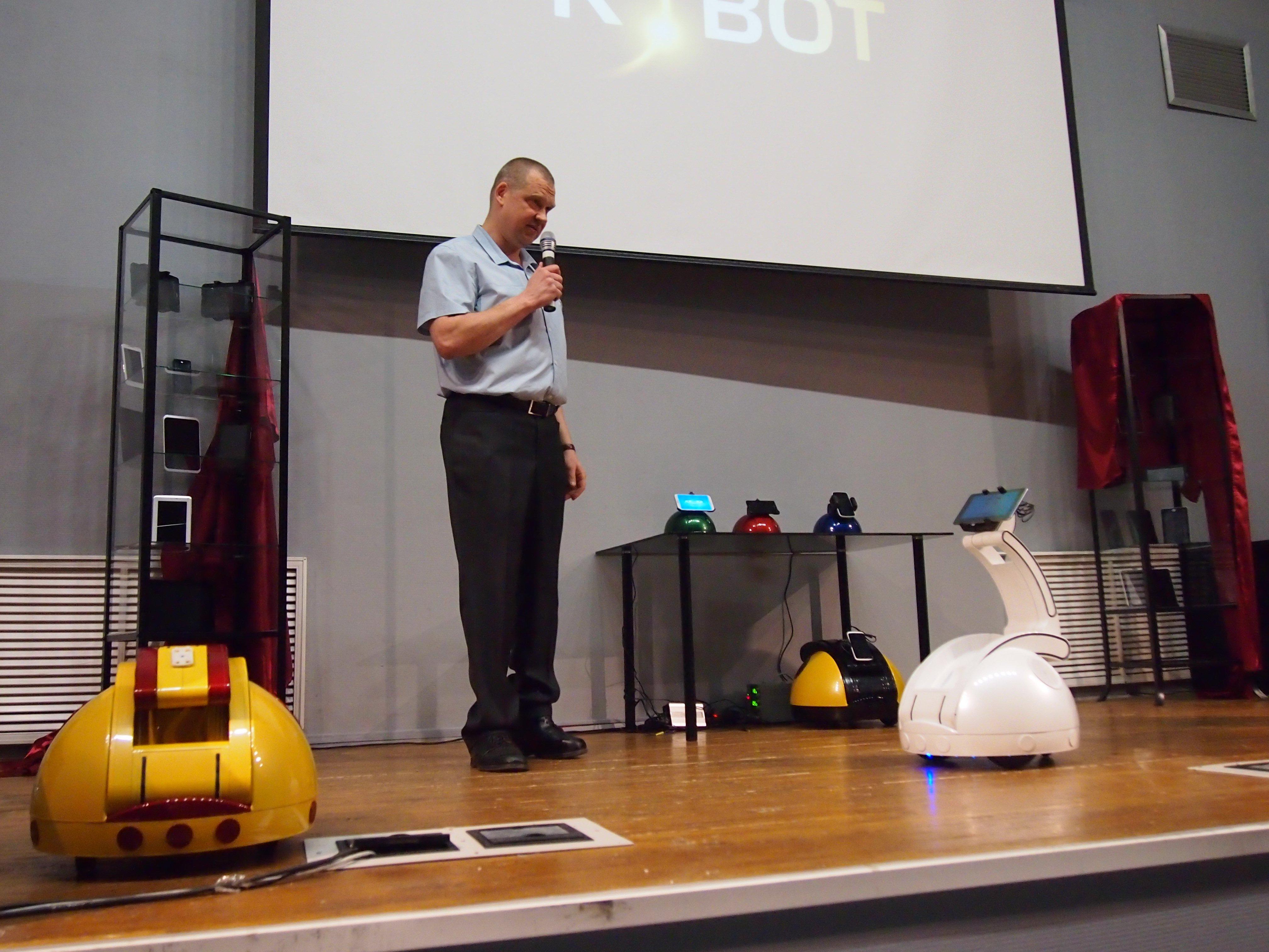 R.BOT Synergy Swan: робот-«аватар» из России